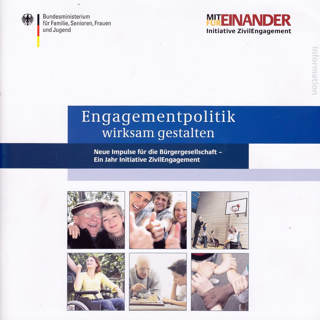 Bundesministerium für Familie, Engagementpolitik 2